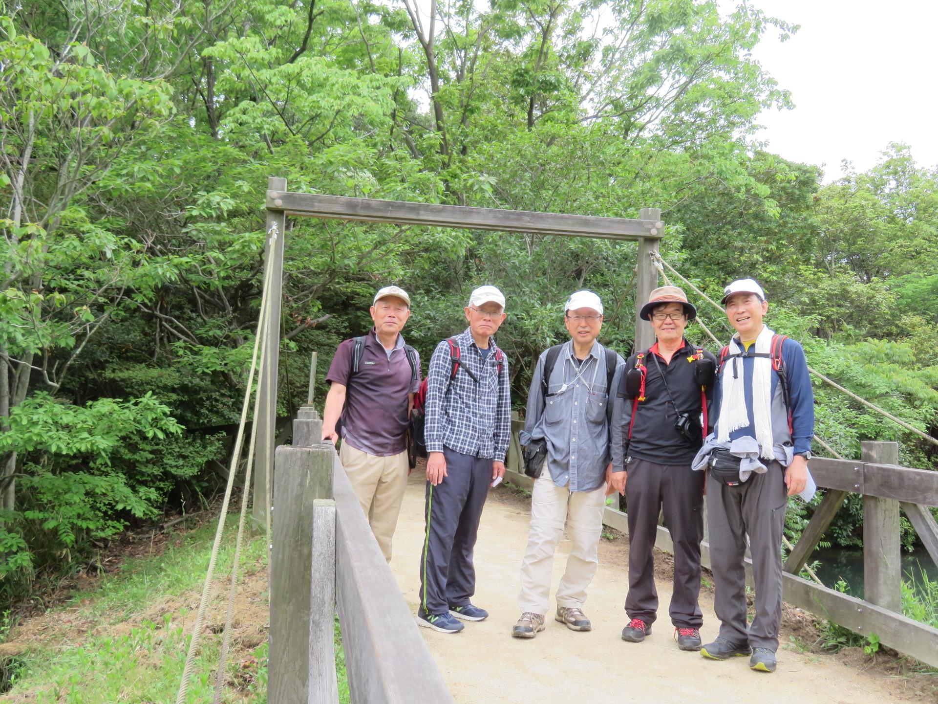 ハイキング 甲山